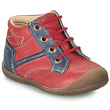 Chaussures Garçon Boots Catimini RATON Rouge / Marine