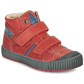 Chaussures Garçon Baskets montantes Catimini RAIFORT Rouge