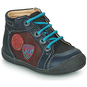 Chaussures Garçon Boots Catimini REGLISSE VTS MARINE-BORDO DPF/KIMBO