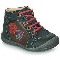 Chaussures Garçon Boots Catimini REGLISSE Vert / Marron