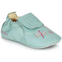 Chaussures Fille Chaussons Catimini RHIZINE VTE VERT D EAU DPF/SOUPLE