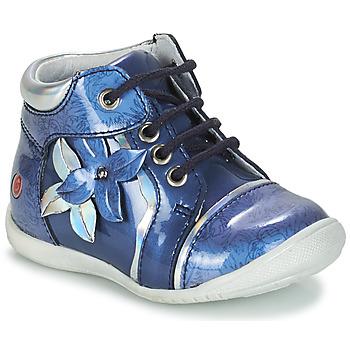 Chaussures Fille Boots GBB SONIA Bleu
