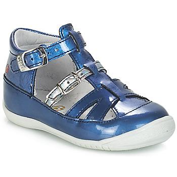 Chaussures Fille Sandales et Nu-pieds GBB SARAH VVN BLEU-IMPRIME DPF/KEZIA