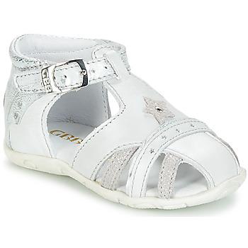 Chaussures Fille Sandales et Nu-pieds GBB SUZANNE Blanc
