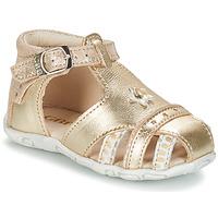 Chaussures Fille Sandales et Nu-pieds GBB SUZANNE Doré