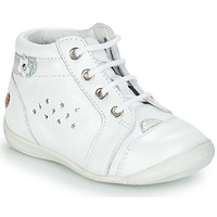 Chaussures Fille Boots GBB SIDONIE Blanc