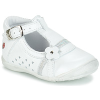 Chaussures Fille Ballerines / babies GBB SIXTINE Blanc