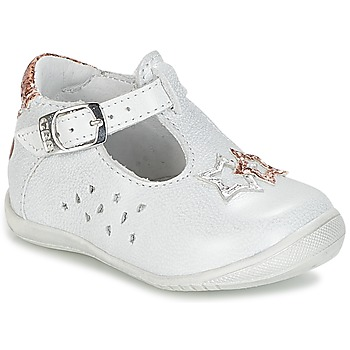 Chaussures Fille Ballerines / babies GBB SEVERINE Blanc