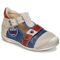 Chaussures Garçon Sandales et Nu-pieds GBB STANISLAS Marine / Beige / Rouge