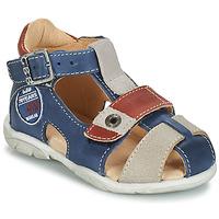 Chaussures Garçon Sandales et Nu-pieds GBB SULLIVAN Bleu / Beige / Marron