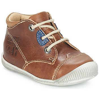 Chaussures Garçon Boots GBB SAMUEL Marron