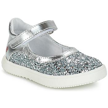 Chaussures Fille Ballerines / babies GBB SAKURA Argenté