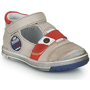 Chaussures Garçon Sandales et Nu-pieds GBB SOREL VTC BEIGE-ROUGE DPF/FLASH