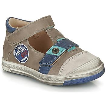 Chaussures Garçon Sandales et Nu-pieds GBB SOREL VTC TAUPE-BLEU DPF/FLASH