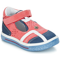 Chaussures Garçon Sandales et Nu-pieds GBB SALVADORE Rouge / Bleu