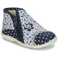 Chaussures Fille Chaussons GBB PILI Bleu / Blanc
