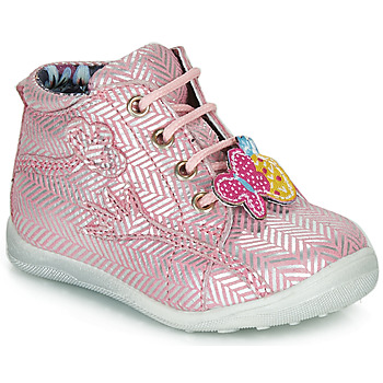 Chaussures Fille Boots Catimini SALAMANDRE Rose