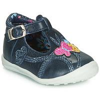 Chaussures Fille Ballerines / babies Catimini SOLEIL Marine