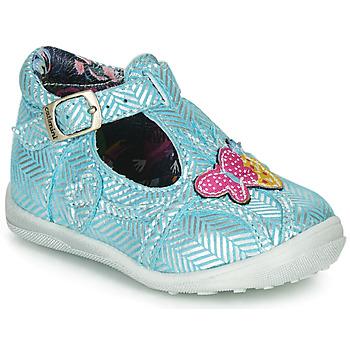 Chaussures Fille Boots Catimini SOLEIL VTE CIEL-ARGENT DPF/GLUCK