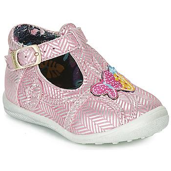 Chaussures Fille Ballerines / babies Catimini SOLEIL Rose