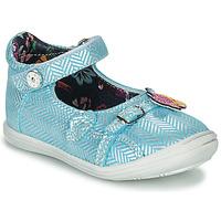 Chaussures Fille Ballerines / babies Catimini SITELLE VTE CIEL-ARGENT DPF/2851