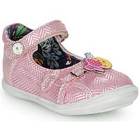Chaussures Fille Ballerines / babies Catimini SITELLE Rose / Argent