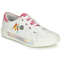 Chaussures Fille Baskets basses Catimini SYLPHE Blanc