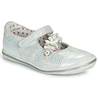 Chaussures Fille Ballerines / babies Catimini STROPHAIRE Argent