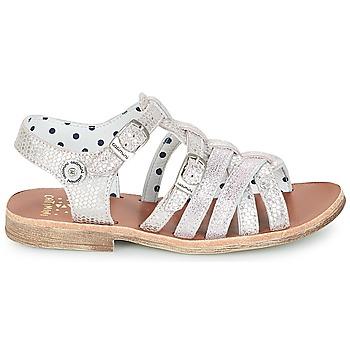-10%. Chaussures Fille Sandales et Nu-pieds Catimini SAULE Argent ...