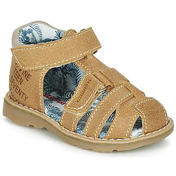 Chaussures Garçon Sandales et Nu-pieds Catimini SYCOMORE Cognac
