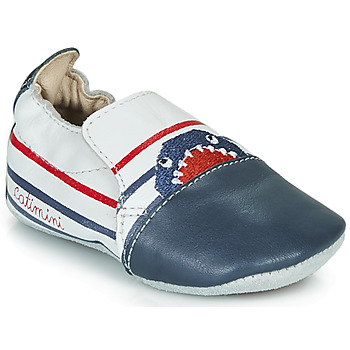 Chaussures Garçon Chaussons Catimini SIMOCYBE Marine / Blanc / Rouge