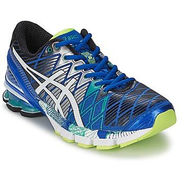 Chaussures-de-running Asics GEL-KINSEI 5 Bleu / Blanc / Vert