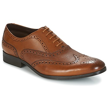 Chaussures Homme Richelieu Clarks GILMORE LIMIT Tan Leather