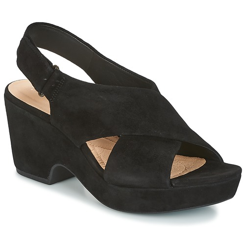 ad78522d5e407 Clarks MARITSA LARA Noir - Chaussure pas cher avec Shoes.fr ...