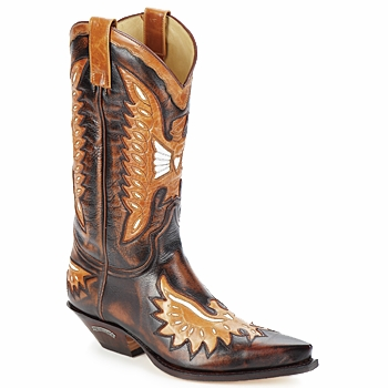 Chaussures Homme Bottes ville Sendra boots CHELY Marron