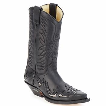 Chaussures Air max tnBottes ville Sendra boots CLIFF Noir