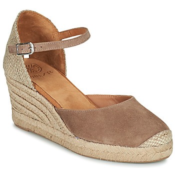 Chaussures Femme Sandales et Nu-pieds Unisa CARCERES Taupe