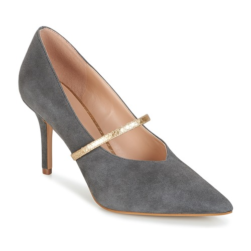 KG by Kurt Geiger V-CUT-MID-COURT-WITH-STRAP-GREY Gris
