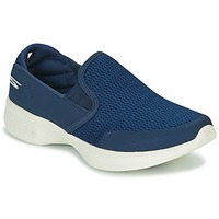 Chaussures Femme Slips on Skechers GO WALK 4 Marine