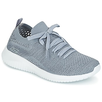 Chaussures Femme Baskets basses Skechers ULTRA FLEX Gris