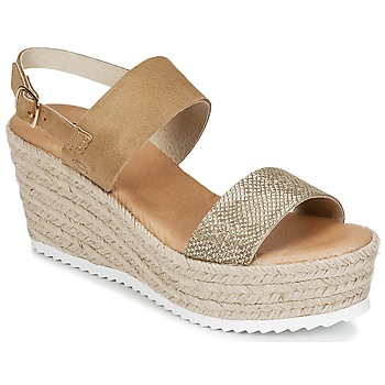 Chaussures Femme Sandales et Nu-pieds Casual Attitude INUIL Or / Marron