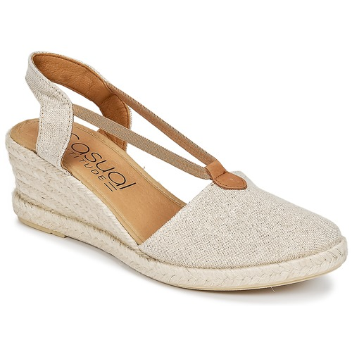 Chaussures Femme Sandales et Nu-pieds Casual Attitude IPOP Doré