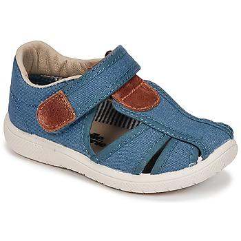 Chaussures Garçon Sandales et Nu-pieds Citrouille et Compagnie GUNCAL Bleu