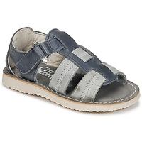 Chaussures Garçon Sandales et Nu-pieds Citrouille et Compagnie IOUTIKER Bleu / Gris