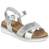 Chaussures Fille Sandales et Nu-pieds Citrouille et Compagnie IZOEGL Argent