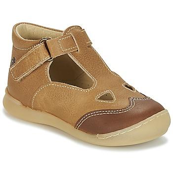 Chaussures Garçon Sandales et Nu-pieds Citrouille et Compagnie IARTIALAN Marron