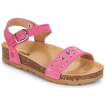 Chaussures Fille Sandales et Nu-pieds Citrouille et Compagnie IHITO Rose