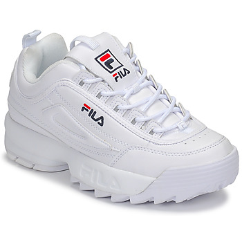 Chaussures Femme Baskets basses Fila DISRUPTOR LOW WMN Blanc