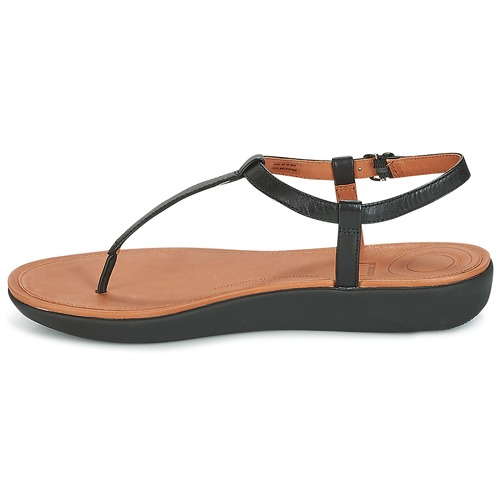 FitFlop TIA TOE THONG SANDALS Noir