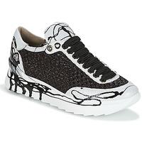 Chaussures Femme Baskets basses Now CARK Noir / Blanc